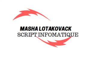 MASHA script informatique