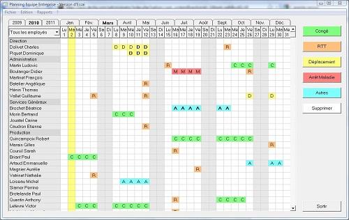 Comparatif sur les outils de planning quelle solution pour votre entreprise